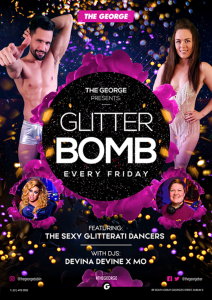 Glitter Bomb at The George Bar Dublin