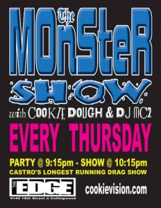 Monster Show Thursdays at the EDGE