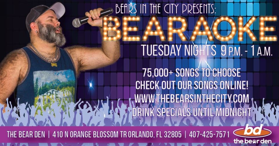 Bearaoke Tuesdays