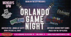 Orlando Game Night