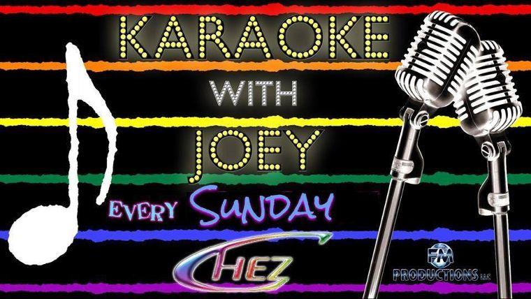 Karaoke with Joey