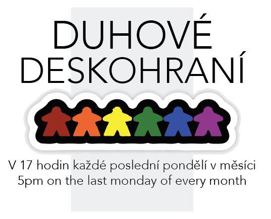 Duhové Deskohraní LGBT-Friendly Game Night