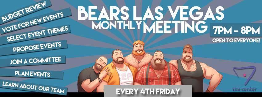 Bears Las Vegas Meeting!