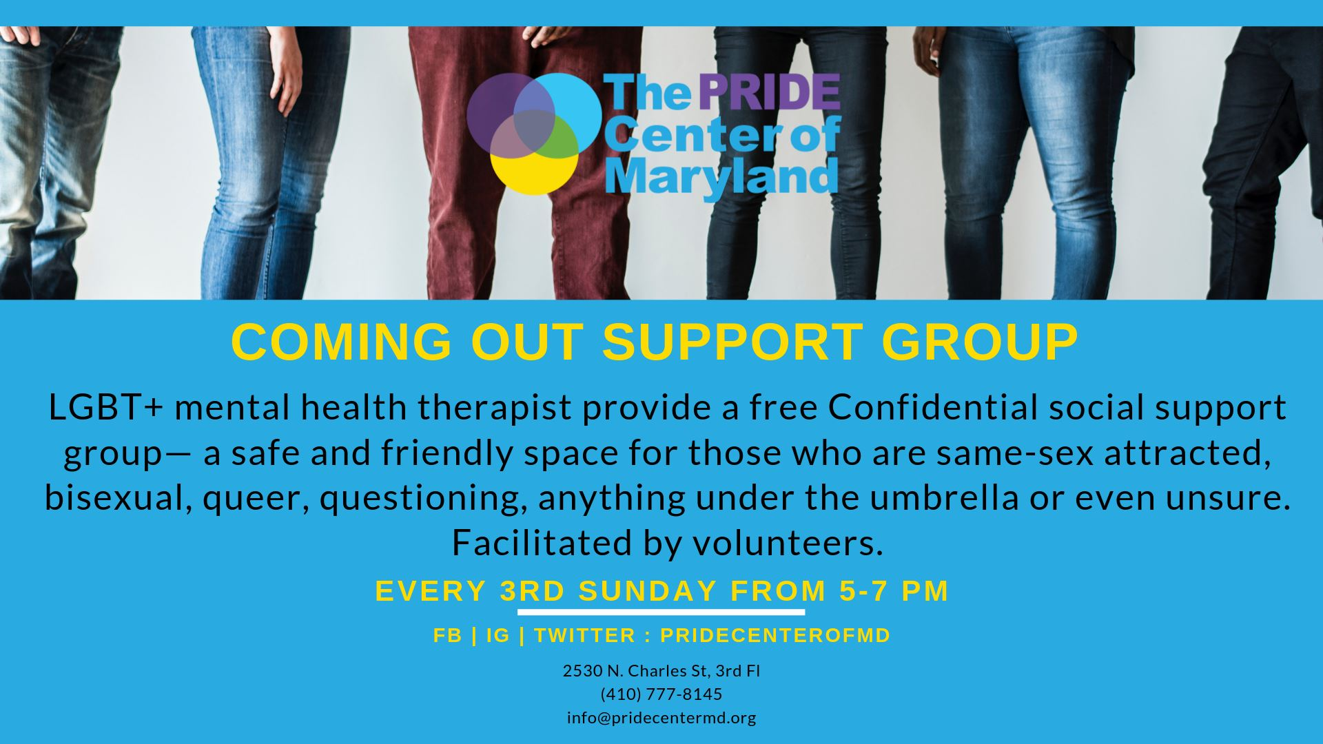 Coming Out Support Group