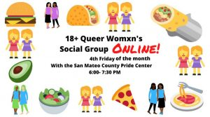 18+ Queer Womxn's Social Group