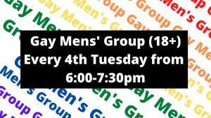 Adult Gay Men's Digital Group (18+)