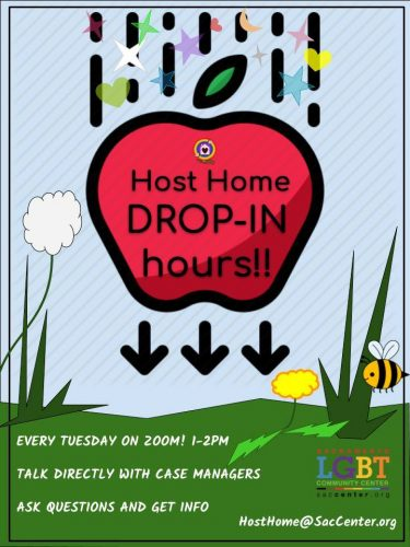 Host Home Drop-In Hours