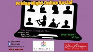 RainbowBiz Online Social via Zoom