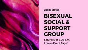 Virtual - Bisexual Support & Peer Group