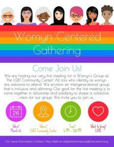 Virtual Womyn Centered Gathering