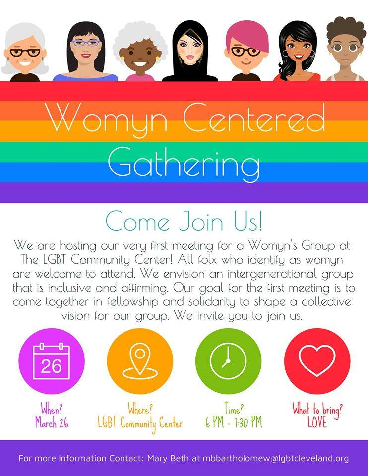 Virtual Womyn Centered Gathering