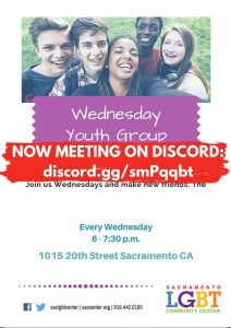 Wednesday Youth Group (Ages 13-17)