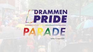 Drammen Pride Parade 2020