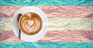 Online trans and non-binary coffee