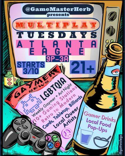 Multiplay Tuesdays at Atlanta Eagle