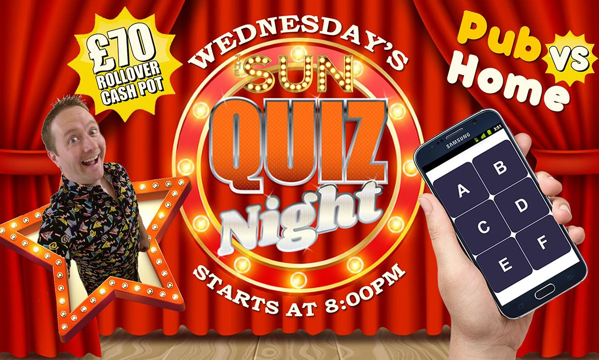 Quiz Night Wednesday