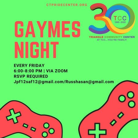 Gaymes Night