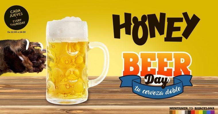 Jueves Honey Beer Day: tu cerveza DOBLE