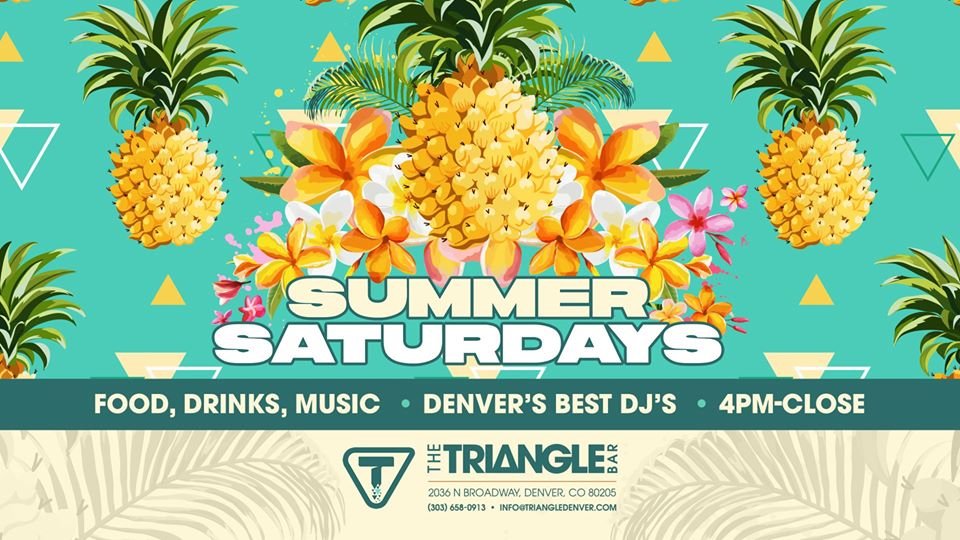 Summer Saturday's, With DJ Gary Givant This Saturday