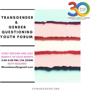 Transgender & Gender Questioning Youth Forum