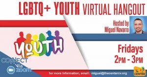 Lgbtq+ Youth Virtual Hangout