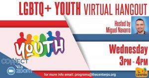 Lgbtq+ Youth Virtual Hangout