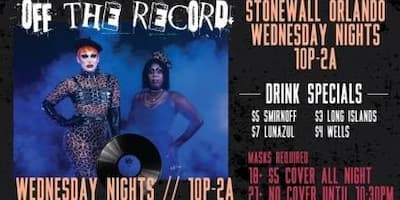 Off the Record Wednesdays
